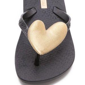 Ipanema neo love heart flip flop